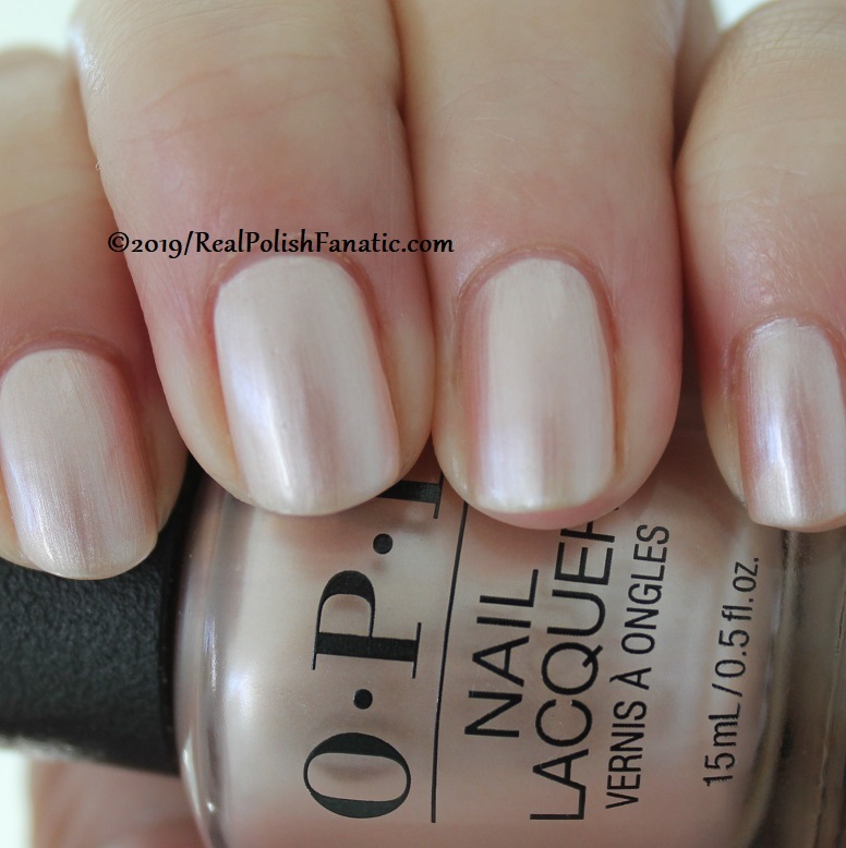OPI - Chiffon-d of You -- Always Bare For You Collection - Soft Shades Spring 2019 (6)