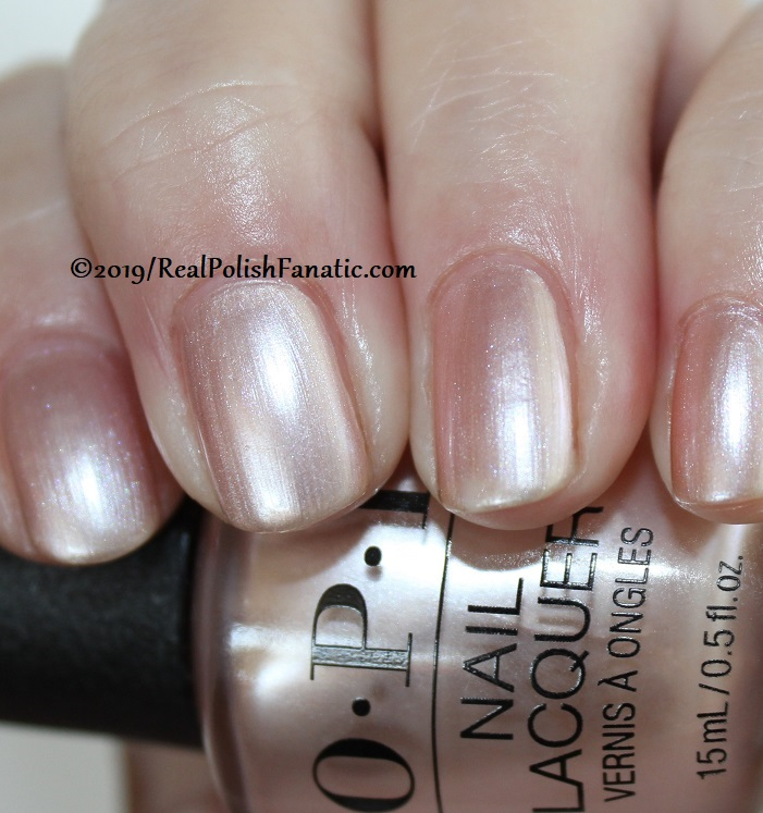 OPI - Chiffon-d of You -- Always Bare For You Collection - Soft Shades Spring 2019 (7)