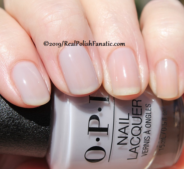 OPI - Engage-meant to Be -- Always Bare For You Collection - Soft Shades Spring 2019 (21)