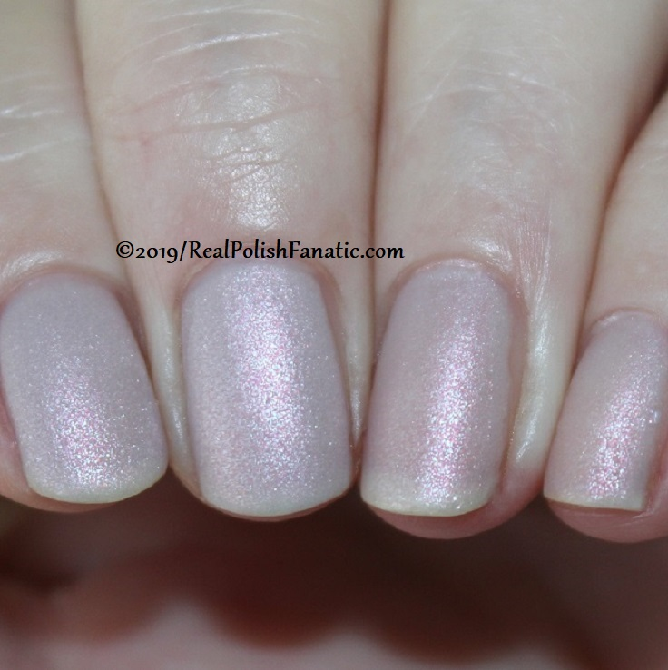 OPI - Engage-meant to Be and Throw Me A Kiss (matte) - Always Bare For You Collection - Soft Shades Spring 2019 (3)