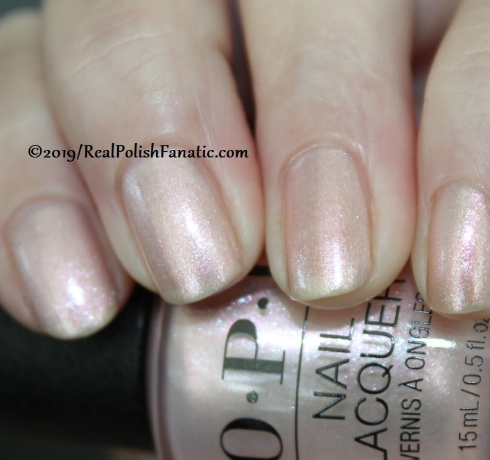 OPI - Throw Me A Kiss -- Always Bare For You Collection - Soft Shades Spring 2019 (12)