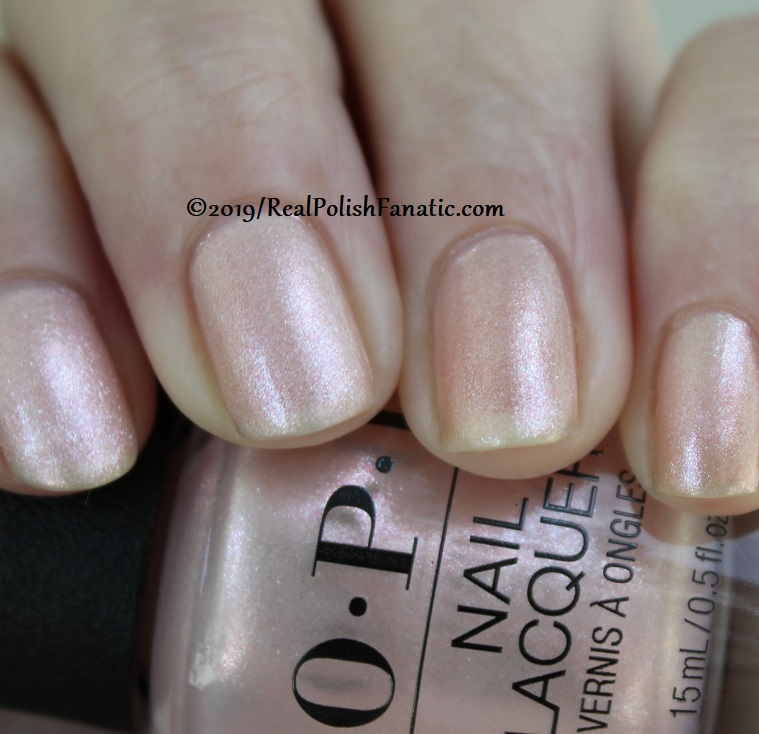 OPI - Throw Me A Kiss -- Always Bare For You Collection - Soft Shades Spring 2019 (14)