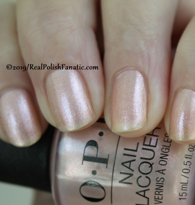 OPI - Throw Me A Kiss -- Always Bare For You Collection - Soft Shades Spring 2019 (15)