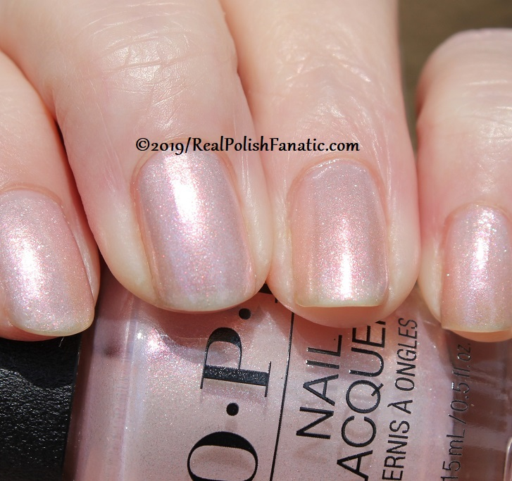 OPI - Throw Me A Kiss -- Always Bare For You Collection - Soft Shades Spring 2019 (19)