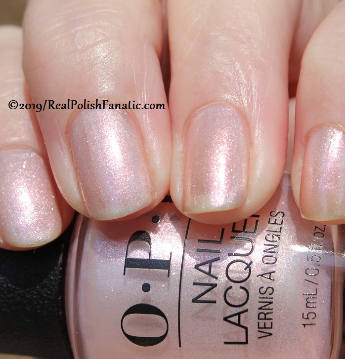 OPI - Throw Me A Kiss -- Always Bare For You Collection - Soft Shades Spring 2019 (20)