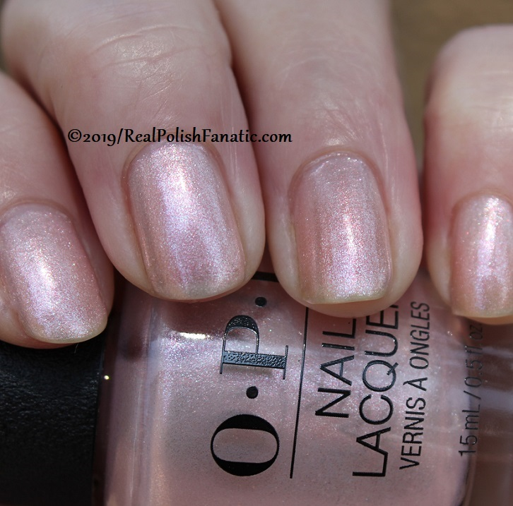 OPI - Throw Me A Kiss -- Always Bare For You Collection - Soft Shades Spring 2019 (21)