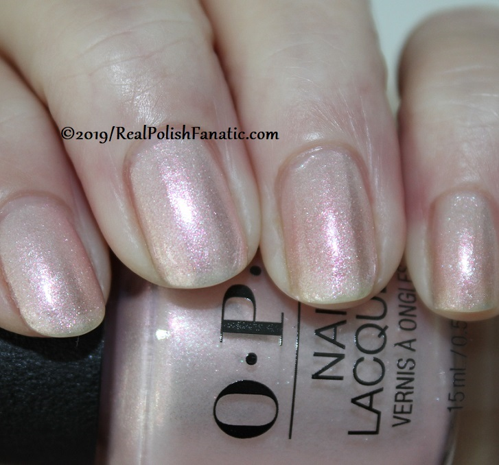 OPI - Throw Me A Kiss -- Always Bare For You Collection - Soft Shades Spring 2019 (5)