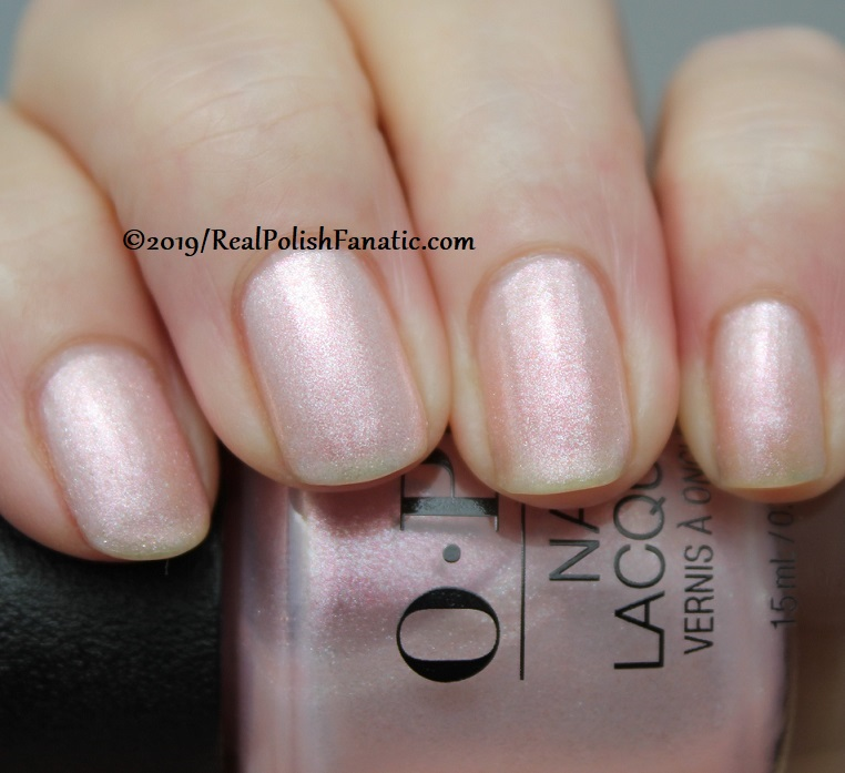 OPI - Throw Me A Kiss -- Always Bare For You Collection - Soft Shades Spring 2019 (8)