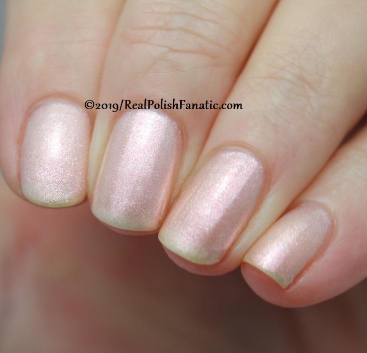 OPI - Throw Me A Kiss -- Always Bare For You Collection - Soft Shades Spring 2019 (9)