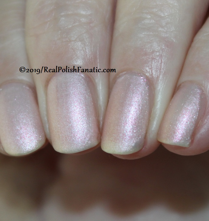 OPI - Throw Me A Kiss (matte) -- Always Bare For You Collection - Soft Shades Spring 2019 (3)