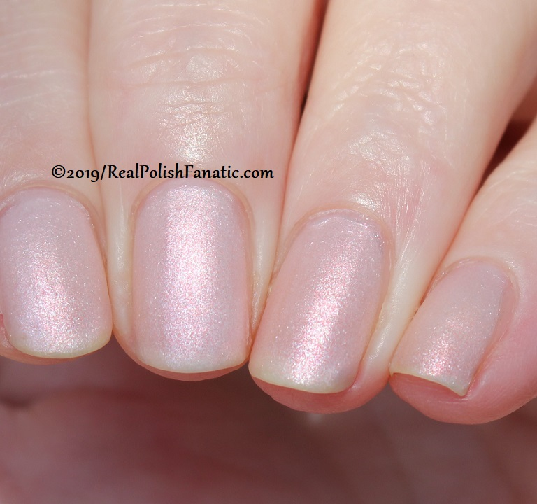 OPI - Throw Me A Kiss (matte) -- Always Bare For You Collection - Soft Shades Spring 2019 (7)