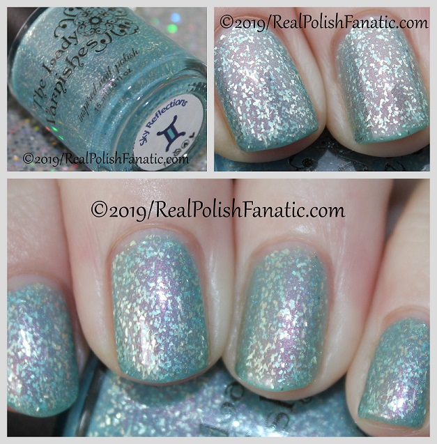The Lady Varnishes - Sky Reflections -- February 2019 Polish Pickup Famous Duos