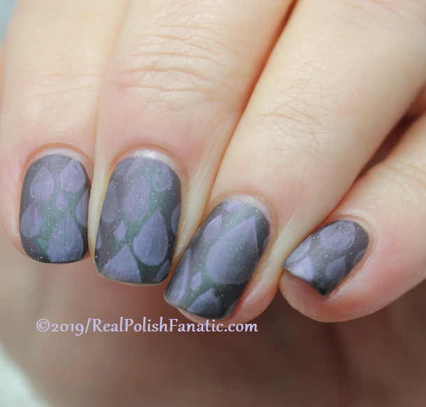 Blogger Collaboration - Top Shelf Lacquer Resistant To Magic stamped with China Glaze Glamletics (5)