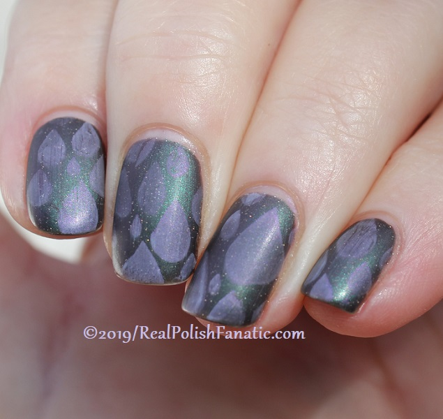 Blogger Collaboration - Top Shelf Lacquer Resistant To Magic stamped with China Glaze Glamletics (7)