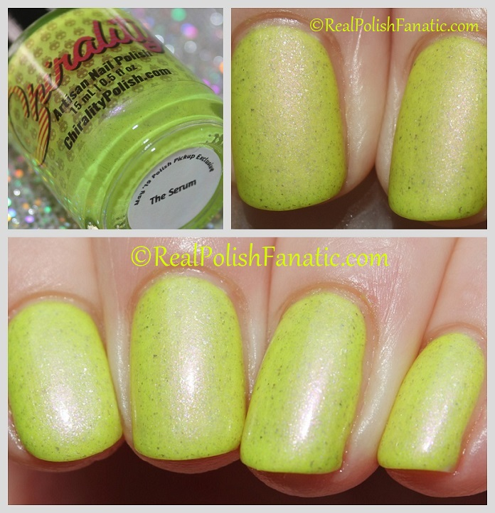 Chirality Polish - The Serum -- May 2019 Polish Pickup 1980s