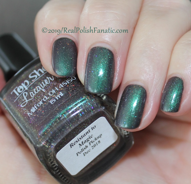 Top Shelf Lacquer - Resistant To Magic -- December 2018 Polish Pickup Enchanted Forest (12)