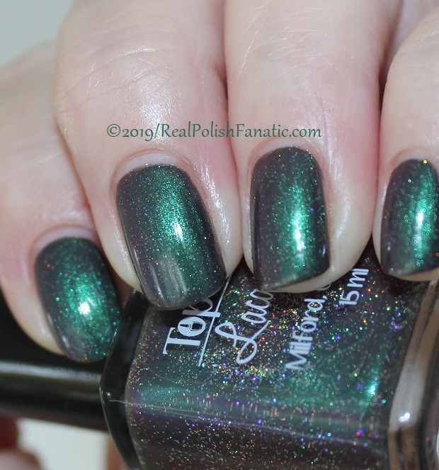 Top Shelf Lacquer - Resistant To Magic -- December 2018 Polish Pickup Enchanted Forest (3)
