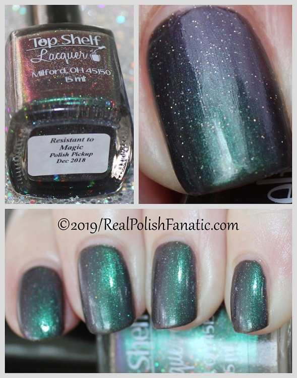 Top Shelf Lacquer - Resistant To Magic -- December 2018 Polish Pickup Enchanted Forest