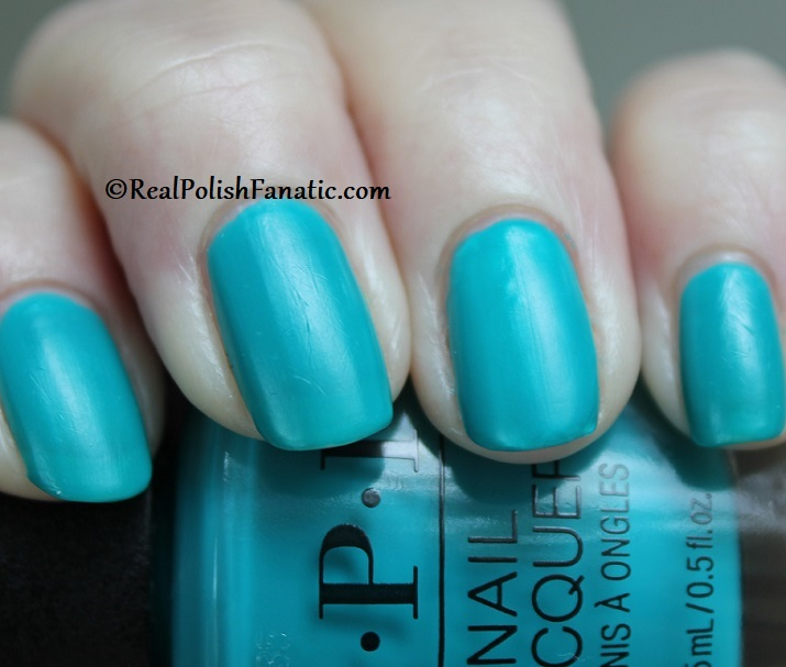 OPI - Dance Party Teal Dawn -- Neon Collection Summer 2019 (10)