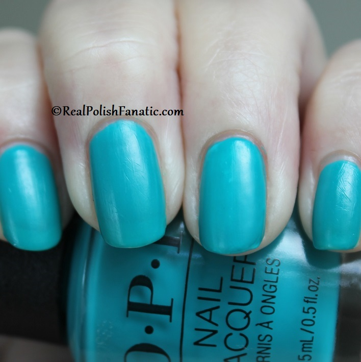 OPI - Dance Party Teal Dawn -- Neon Collection Summer 2019 (11)