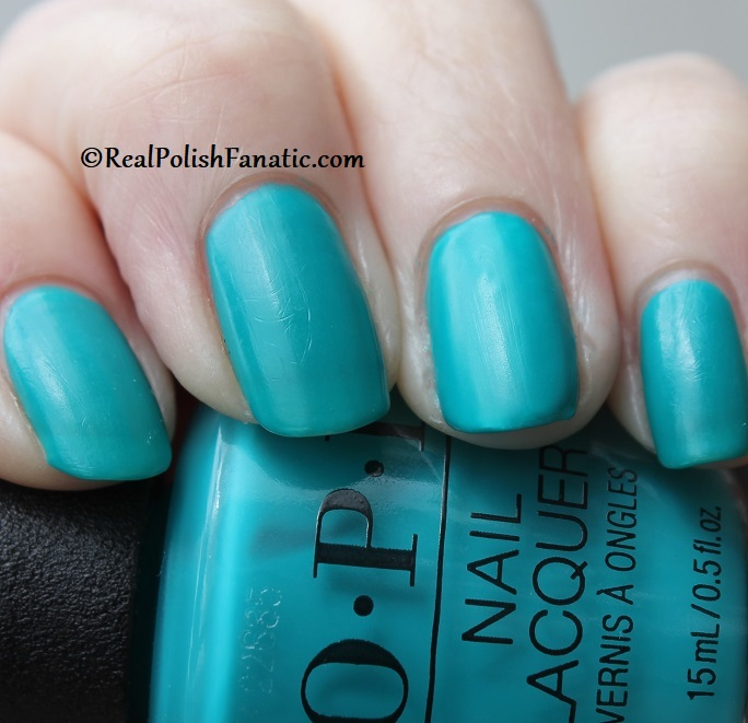 OPI - Dance Party Teal Dawn -- Neon Collection Summer 2019 (13)