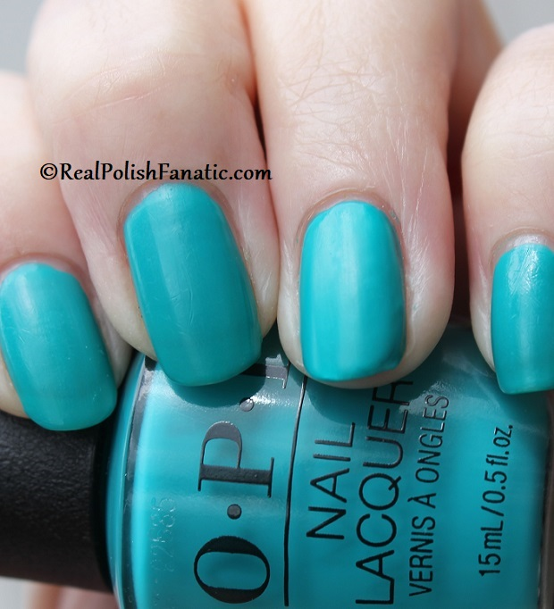 OPI - Dance Party Teal Dawn -- Neon Collection Summer 2019 (14)