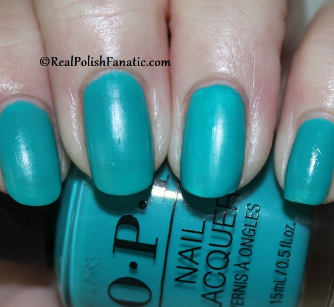 OPI - Dance Party Teal Dawn -- Neon Collection Summer 2019 (2)