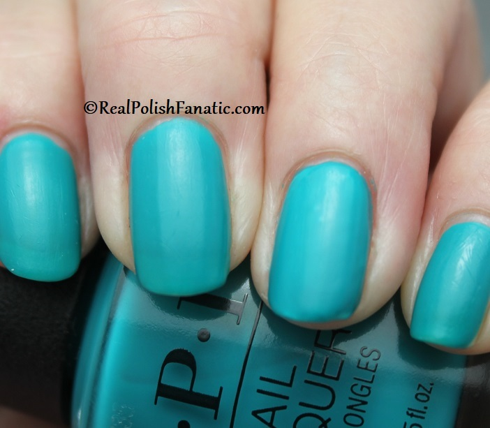 OPI - Dance Party Teal Dawn -- Neon Collection Summer 2019 (8)