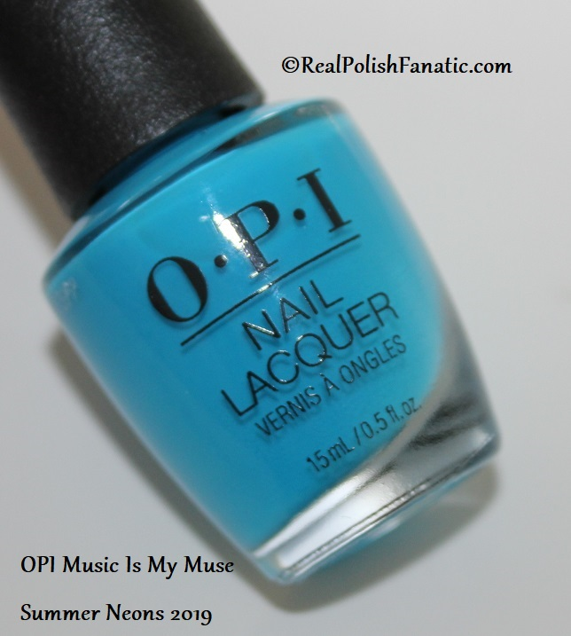 OPI - Music Is My Muse -- Summer Neons 2019 (2)