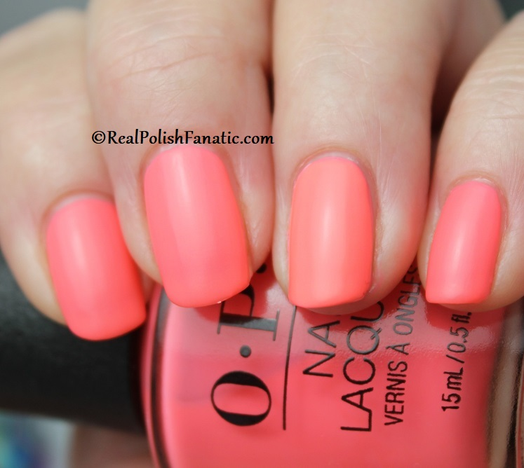 OPI - Orange You A Rock Star -- Neon Collection Summer 2019 (10)