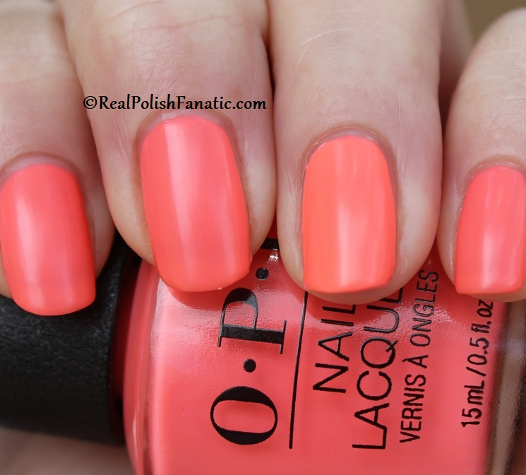 OPI - Orange You A Rock Star -- Neon Collection Summer 2019 (15)