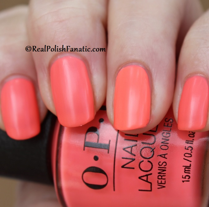OPI - Orange You A Rock Star -- Neon Collection Summer 2019 (16)
