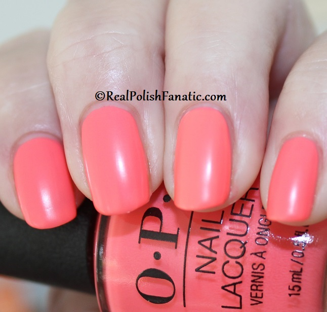 OPI - Orange You A Rock Star -- Neon Collection Summer 2019 (2)