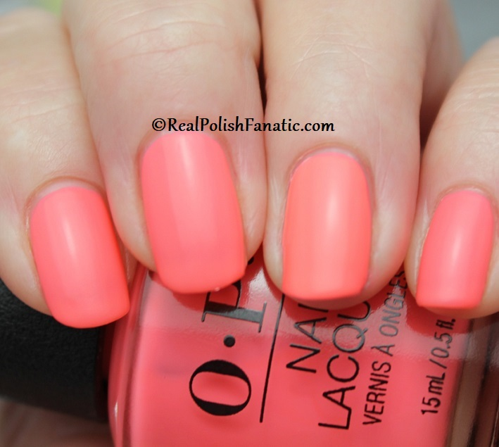 OPI - Orange You A Rock Star -- Neon Collection Summer 2019 (8)