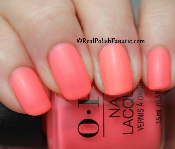 OPI - Orange You A Rock Star -- Neon Collection Summer 2019 (9)
