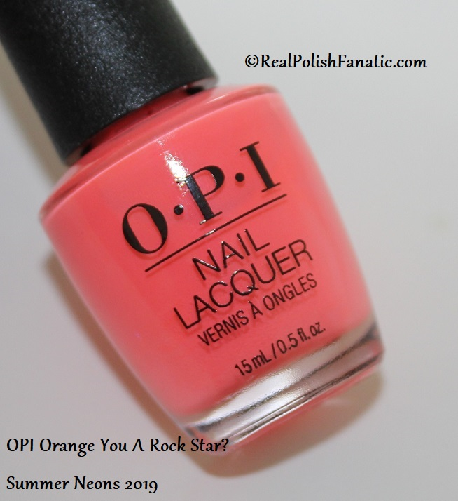 OPI - Orange You A Rock Star -- Summer Neons 2019 (3)
