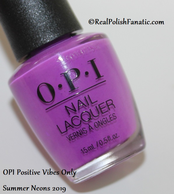 OPI - Positive Vibes Only -- Summer Neons 2019 (4)