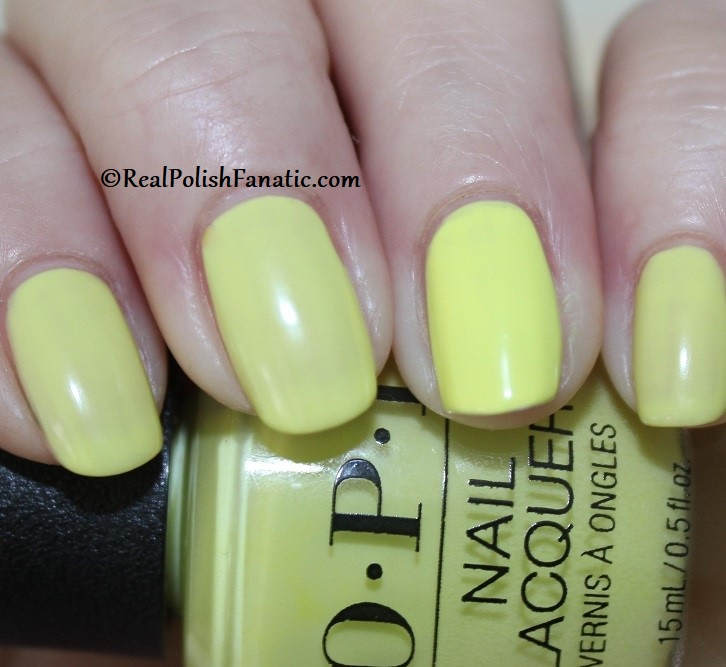 OPI - PUMP Up The Volume -- Neon Collection Summer 2019 (4)