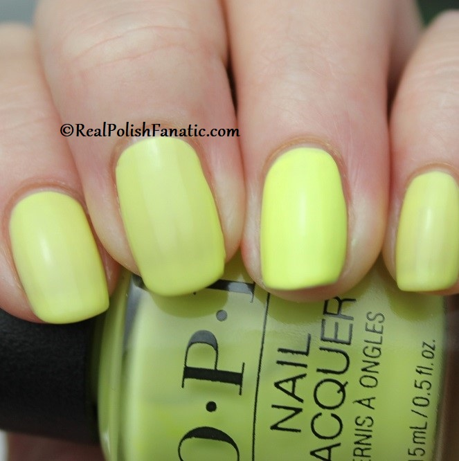 OPI - PUMP Up The Volume -- Neon Collection Summer 2019 (7)