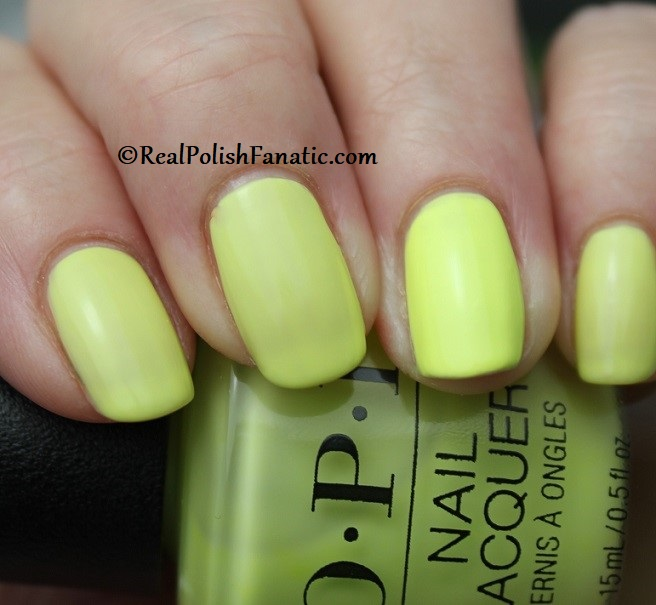 OPI - PUMP Up The Volume -- Neon Collection Summer 2019 (8)