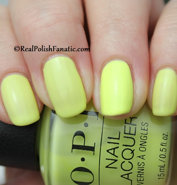 OPI - PUMP Up The Volume -- Neon Collection Summer 2019 (9)
