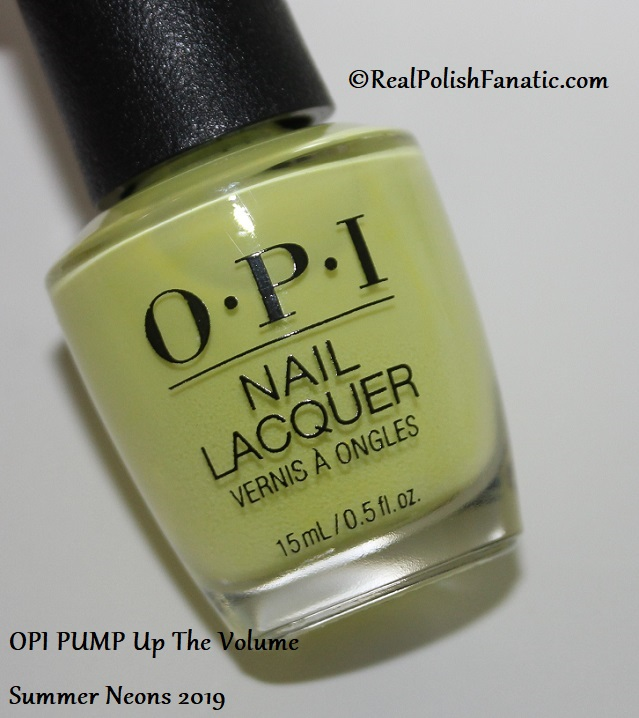 OPI - PUMP Up The Volume -- Summer Neons 2019 (5)