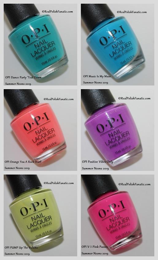 OPI Summer Neons 2019