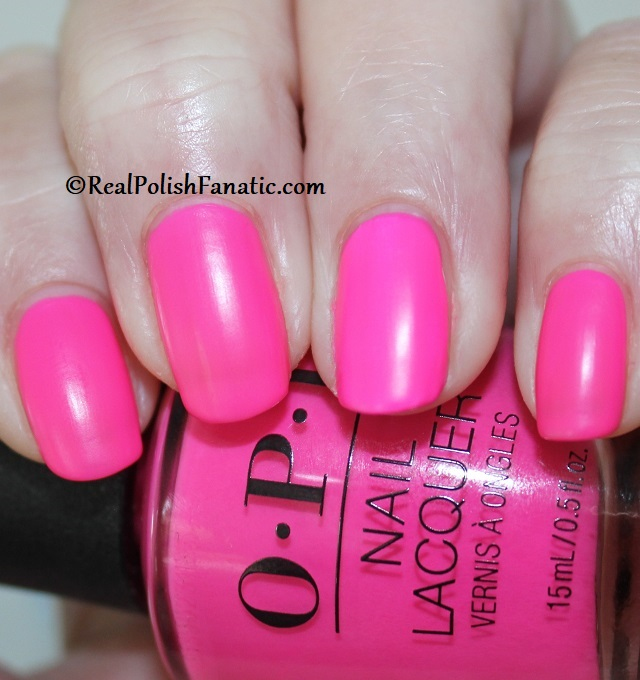 OPI - V·I·Pink Passes -- Neon Collection Summer 2019 (2)