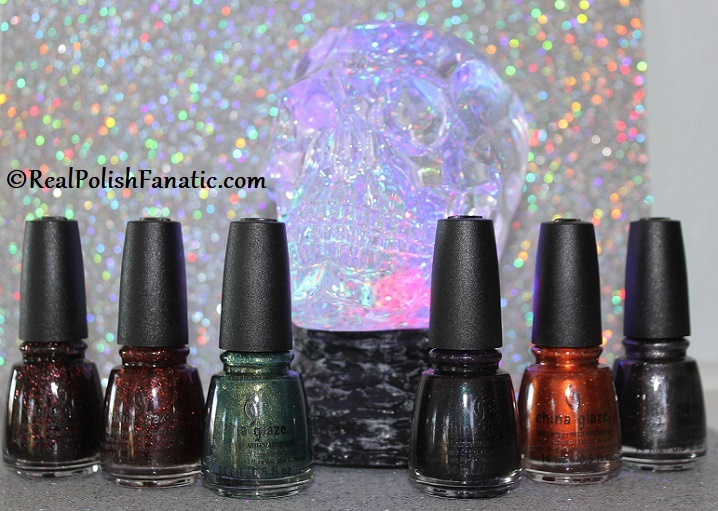 China Glaze Catch A Color Collection -- Halloween 2019 (1)