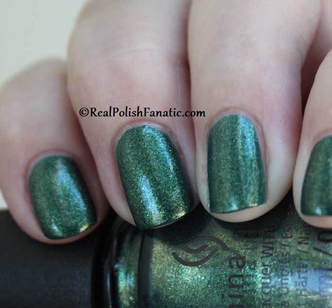 China Glaze - Green With Jealousy -- Catch A Color Collection Halloween 2019 (10)