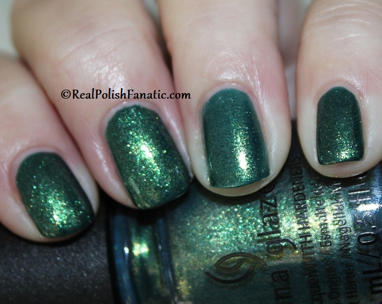 China Glaze - Green With Jealousy -- Catch A Color Collection Halloween 2019 (3)