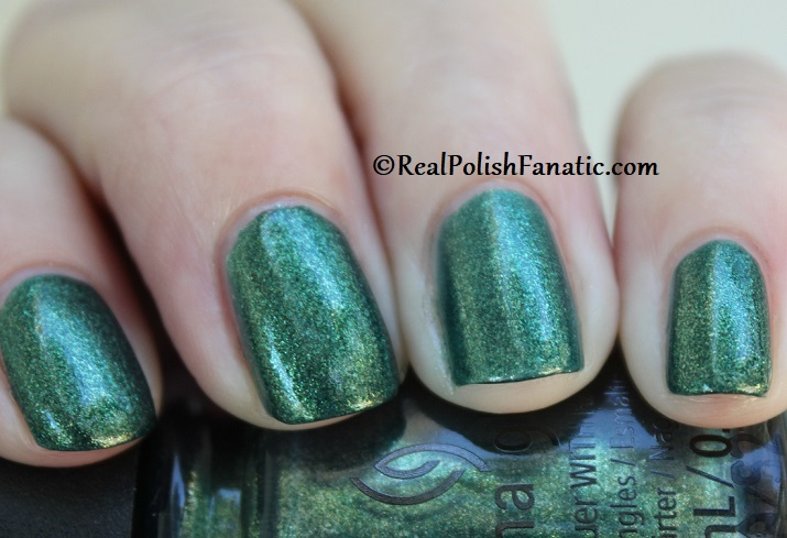 China Glaze - Green With Jealousy -- Catch A Color Collection Halloween 2019 (9)