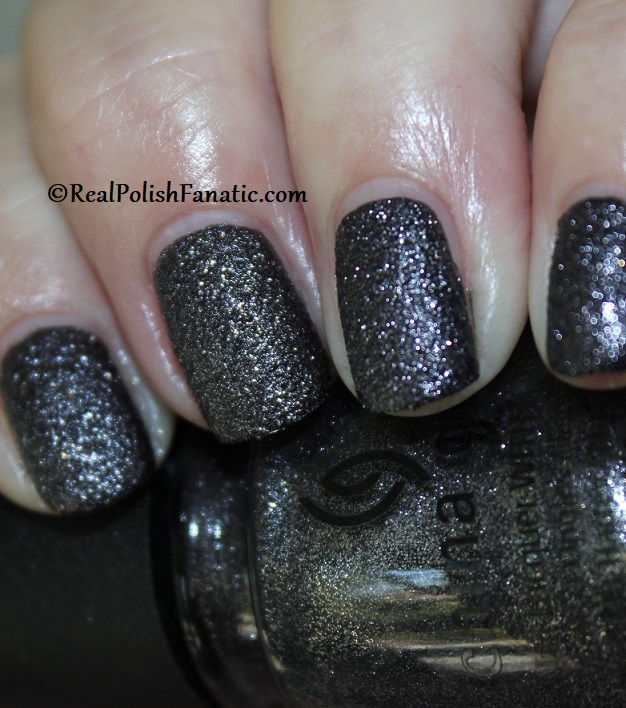 China Glaze - You've Got Blackmail -- Catch A Color Collection Halloween 2019 (2)