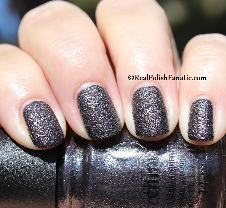 China Glaze - You've Got Blackmail -- Catch A Color Collection Halloween 2019 (20)